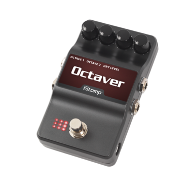 Octaver with iStomp label