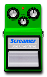 Screamer on epedal