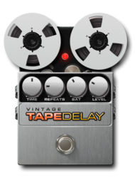 Vintage-tape-delay-on_epedal