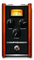 Compressor on epedal