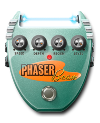 Phaser beam on epedal