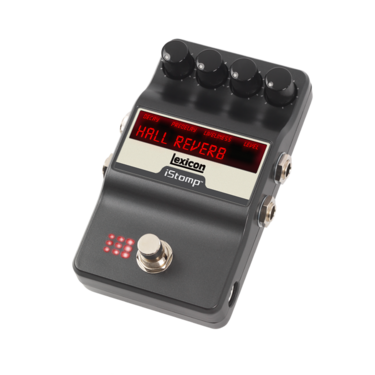 Lexicon Hall Reverb with iStomp label