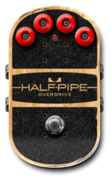 Half pipe off epedal