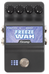 Freeze wah straighton label epedal