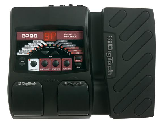 Digitech BP90 Vs. VOX STOMPLAB 2B Vs. Zoom B1XON BP90_Top_original