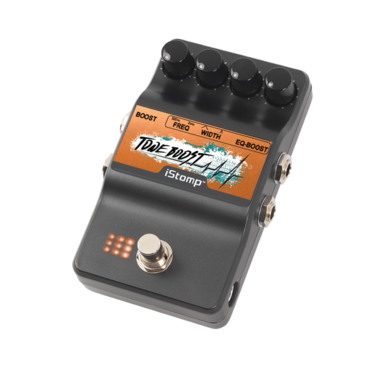 Tone Boost with iStomp label