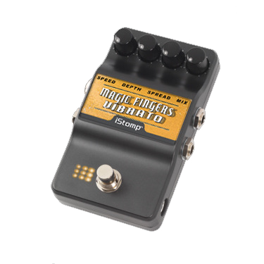 Magic Fingers Vibrato with iStomp label