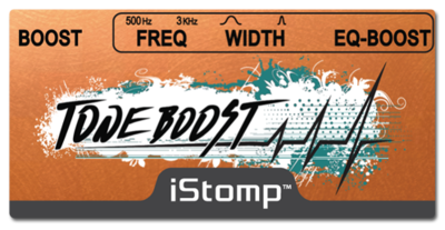 Toneboost label epedal