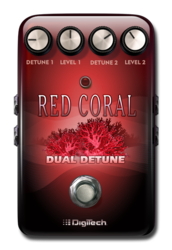 Digitech red coral pedal epedal