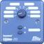 Blu 6 front tiny square