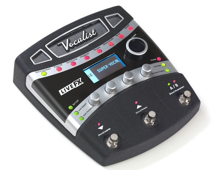 Livefx Digitech Guitar Effects