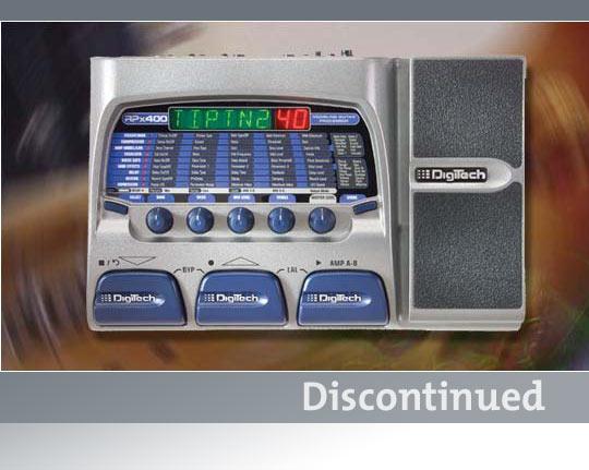 инструкция Digitech Rpx400 img-1