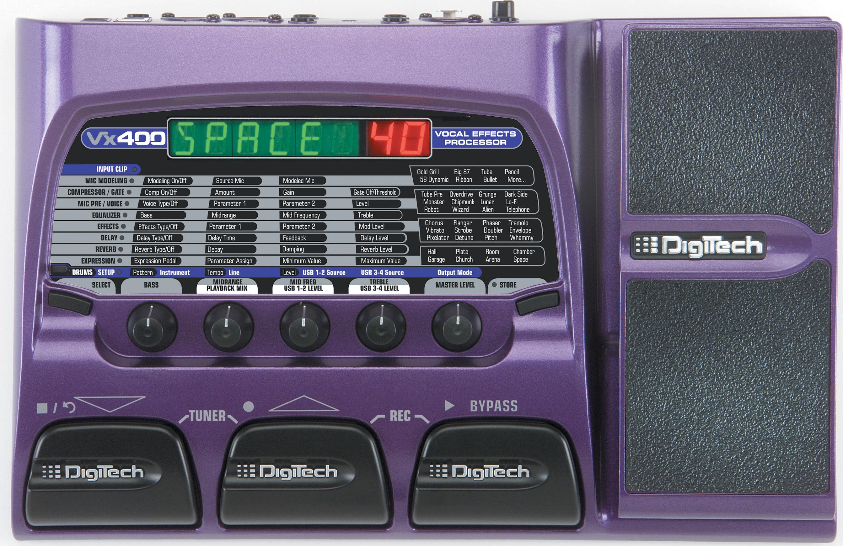 Vx400 Digitech Guitar Effects