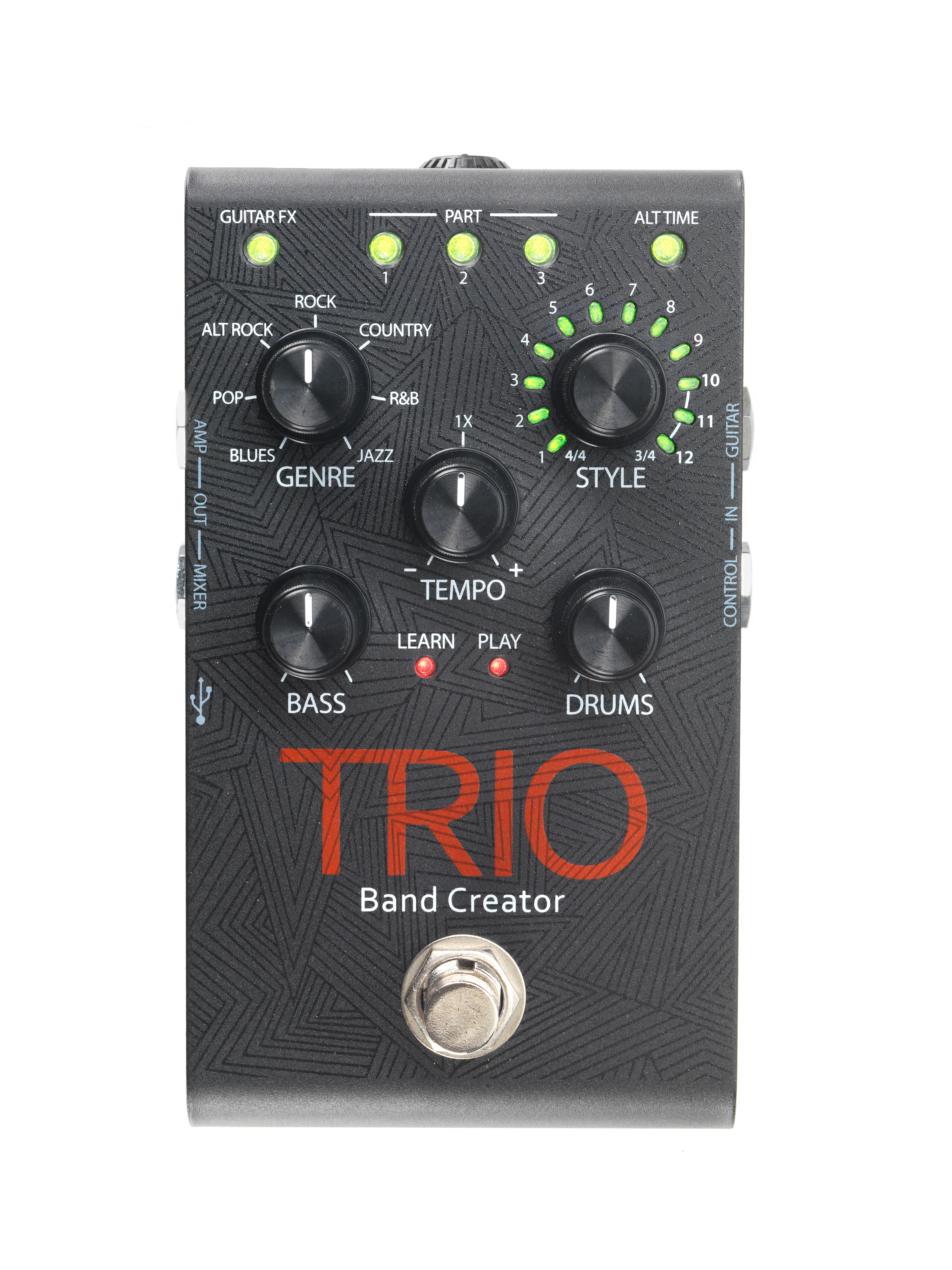 harman 39 s digitech introduces the trio band creator pedal from uk distributor sound technology ltd. Black Bedroom Furniture Sets. Home Design Ideas