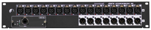 Soundcraft mini stagebox 16 lores medium