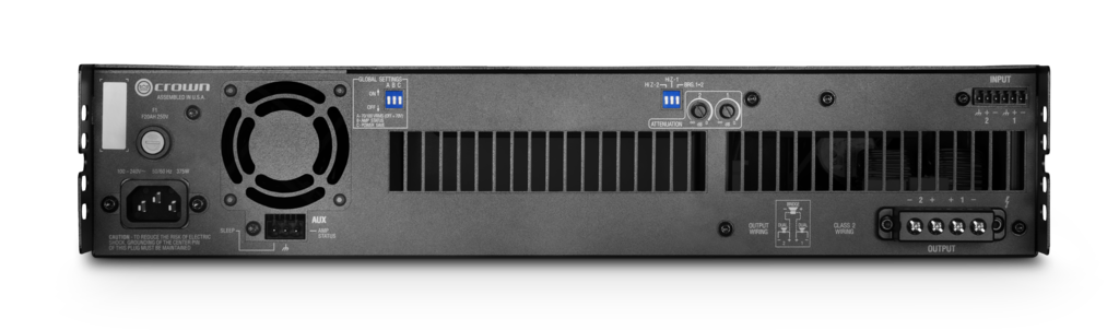 New from Crown: DCi DriveCore Install Series amplifiers - AVS