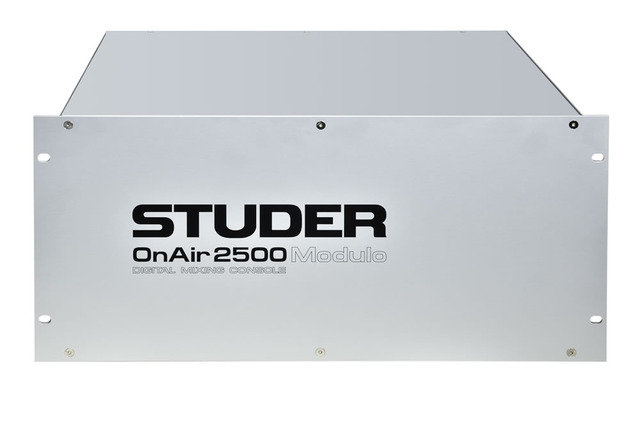 Studer onair 2500 modulo mainframe 1000 large