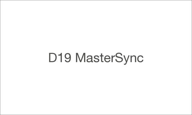 D19mastersync 1000 large