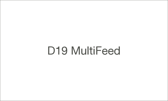 D19 multifeed 1000 large