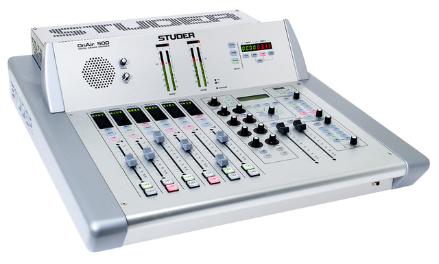 onair 500 studer professional mixing consoles. Black Bedroom Furniture Sets. Home Design Ideas