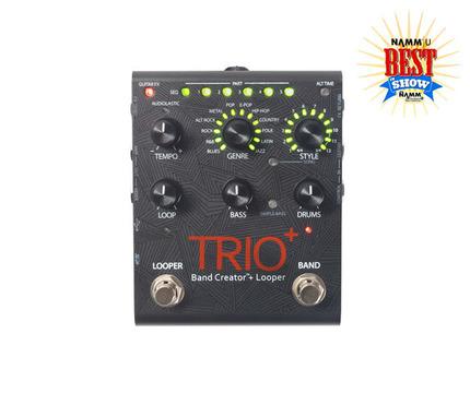 Trio plus top badge large medium