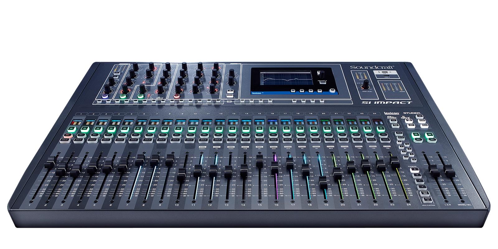 si impact soundcraft professional audio mixers. Black Bedroom Furniture Sets. Home Design Ideas