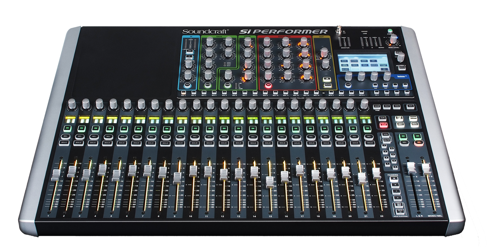 si performer 2 soundcraft professional audio mixers. Black Bedroom Furniture Sets. Home Design Ideas