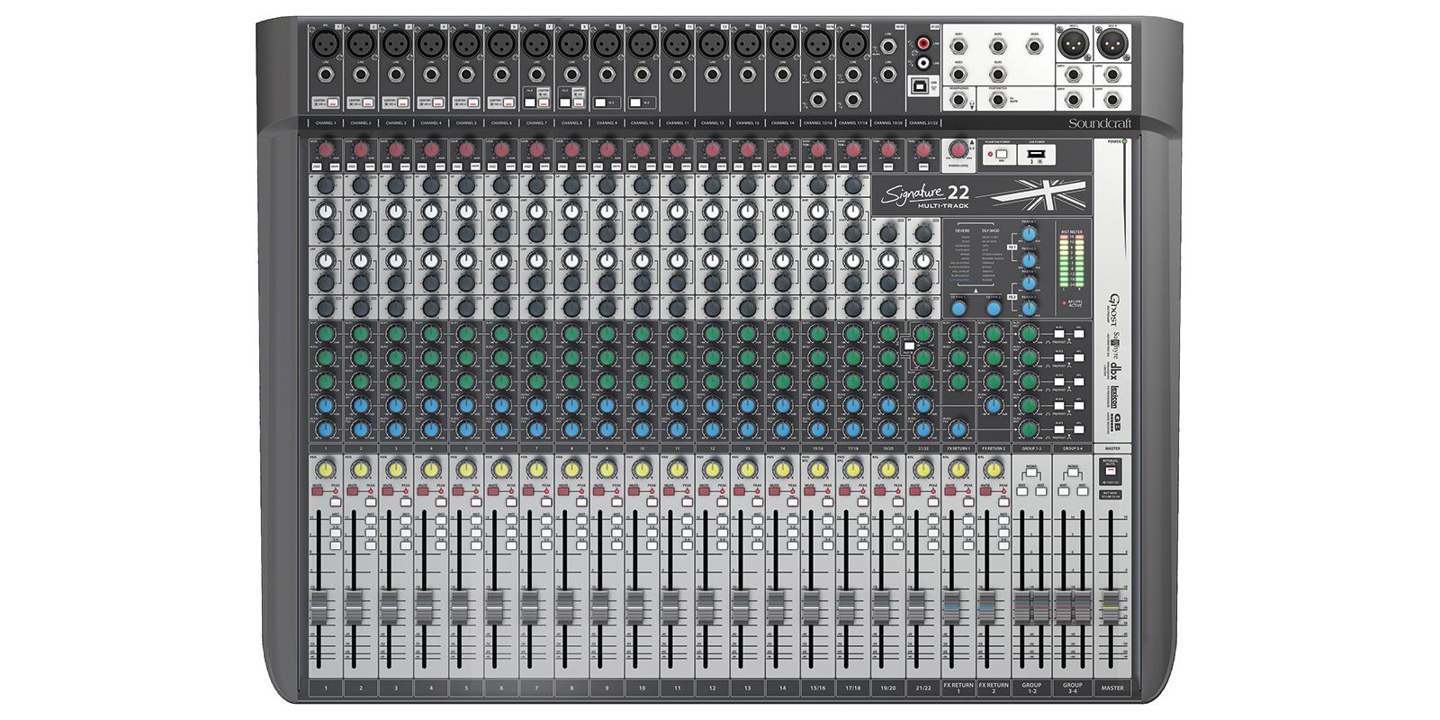 Signature 22 Mtk Soundcraft Professional Audio Mixers