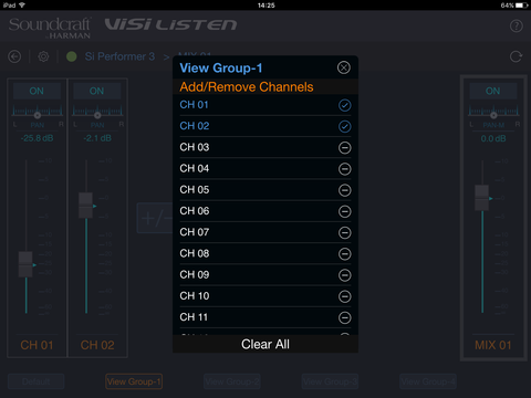 Visi listen channels medium