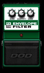 Dod envelope filter off epedal