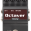 Octaver label tiny square