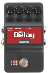 Dm delay label epedal