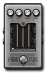 Spring tank off epedal