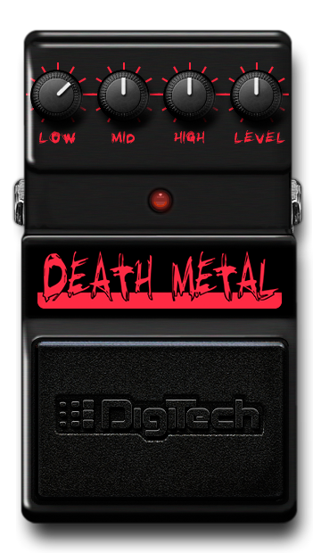 death metal distortion digitech guitar effects. Black Bedroom Furniture Sets. Home Design Ideas
