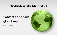 Homepage support button original
