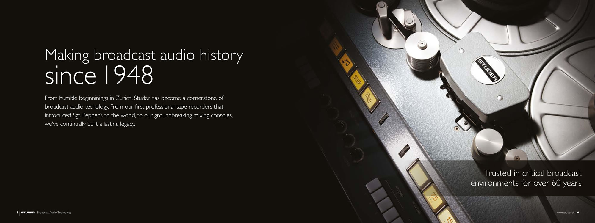 Making broadcast audio history since 1948