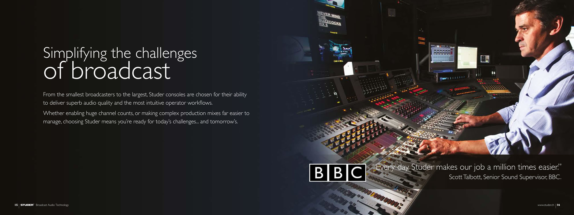 Simplifying the challenges of broadcast