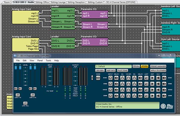 easier integration hiqnet audio architect