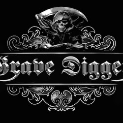 Grave digger logo medal 2.1 medium