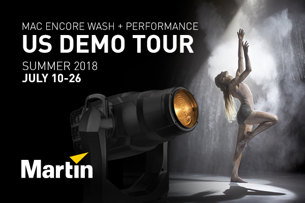MARTIN MAC ENCORE SUMMER DEMO TOUR