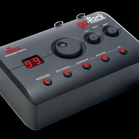 Great Portable PA Sound Made Simple: HARMAN's dbx Introduces goRack™ Performance Processor