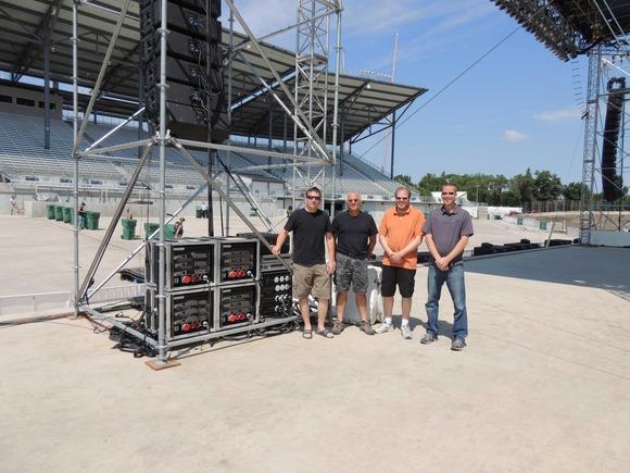 Farber Sound 采用 HARMAN Crown VRACK 功放系统为北达科他州展会提供动力