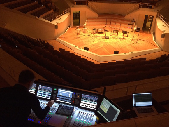Soundcraft Vi3000 Joins the Vi6 and Studer Vista 9 At Berlin Philharmonic's Chamber Music Hall