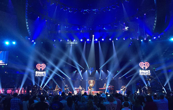 Firehouse Productions Gives iHeartRadio Country Festival A-List Treatment with HARMAN's JBL VTX V25-II Line Arrays and Crown I-Tech 12000HD Amplifiers