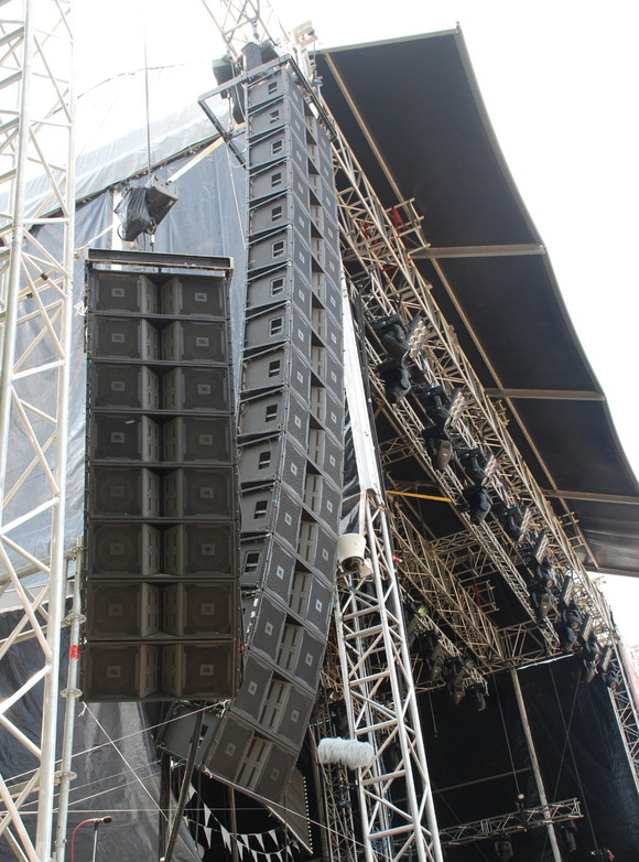 dbx DriveRack and JBL VERTEC® Line Arrays to the Fore at Serbia's Exit Festival
