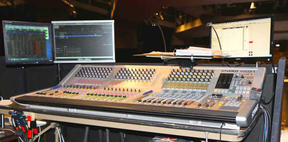 Denver Center for the Performing Arts Finds the One for The 12 in HARMAN's Studer Vista 1 Digital Console