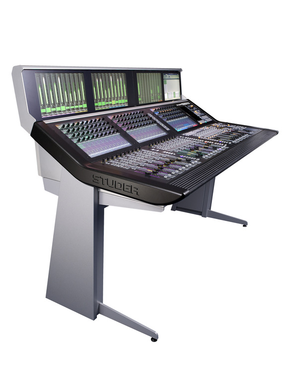 Studer Combines Performance and Aesthetics with new Vista 1 Black Edition Digital Mixing Console