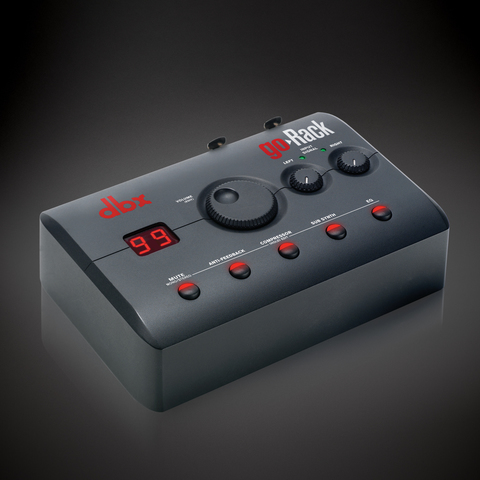 The dbx goRack™ Portable Performance Processor Is Now Shipping
