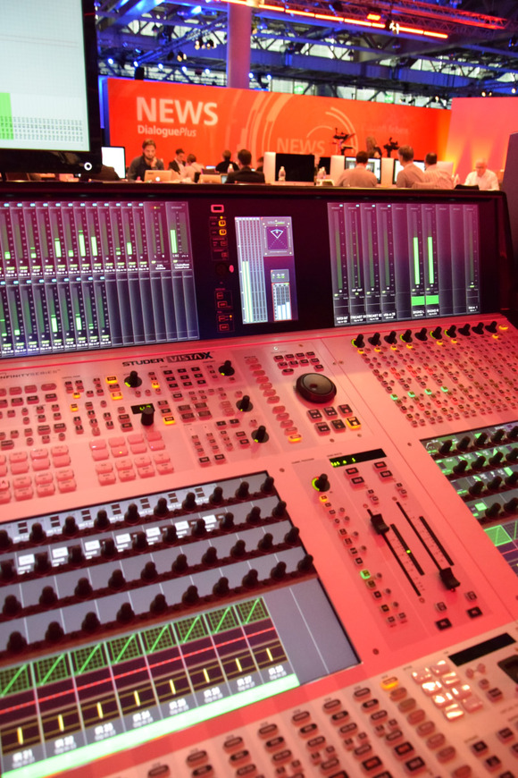 HARMAN Professional Solutions' Studer Vista X Console Enables Delivery of Professional-Grade Broadcast Content to Multiple Zones at Raiffeisen Bank's Dialogue Plus Show