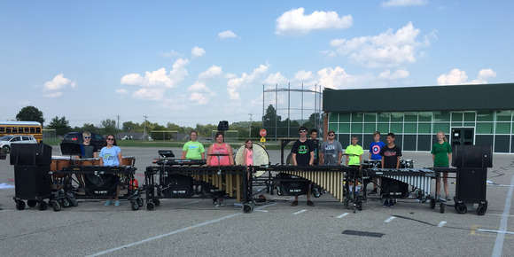 Marching Band at Harrison High School Takes the Field with Soundcraft Ui Series Remote-Controlled Digital Mixer